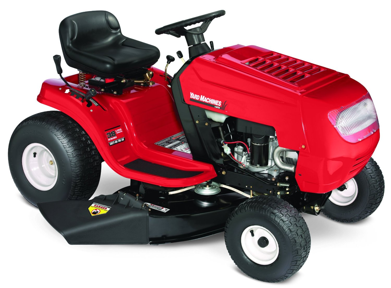 Yard Machines 38 inch cheap riding mower